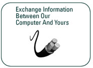 Exchange Information Between Our Computer and Yours